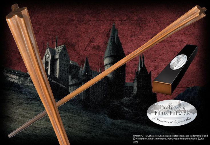 Professor Filius Flintwick's Character Wand - The Noble Collection