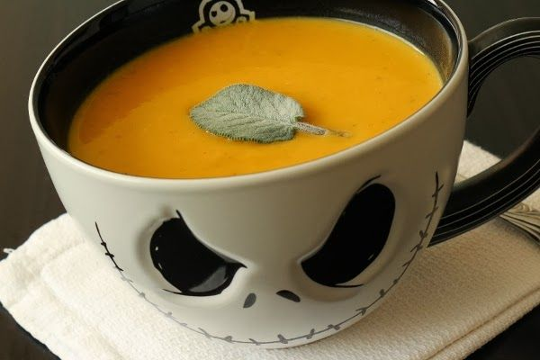 I want the bowl but there's also a recipe for pumpkin soup