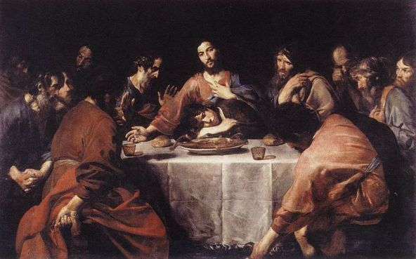 The Last Supper, Valentin de Boulogne