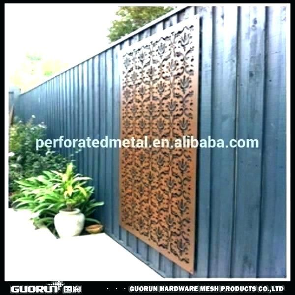 Outdoor Metal Panels Decorative Metal Screen Panels Decorative