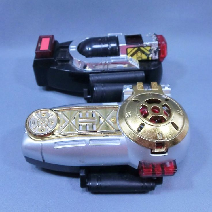 Bandai Power Rangers Zeo O-ranger Morpher Zeonizers set Power Bracelet #Bandai