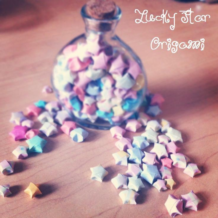 Origami Lucky Star Earrings