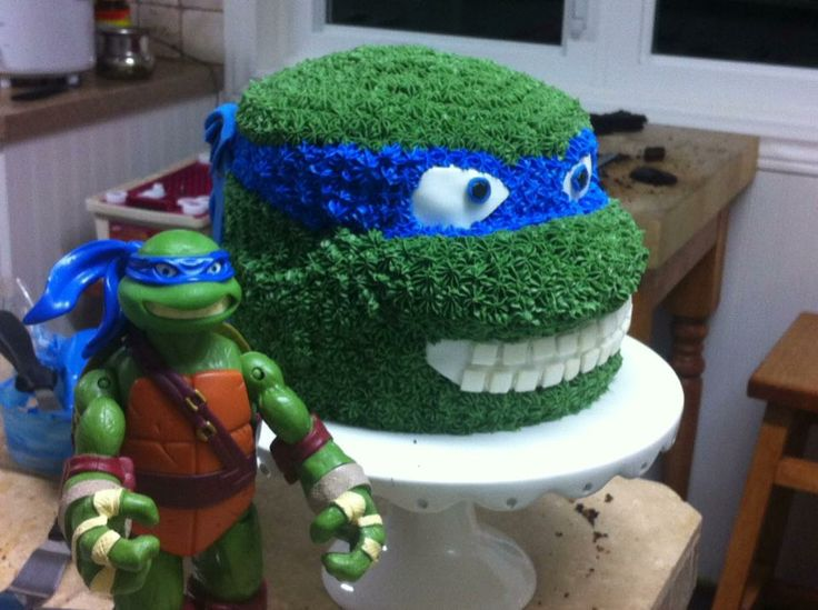 Ninja turtle cake, homemade from scratch | yummmmy stuff ...