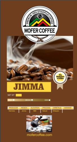 Djimma ground coffee