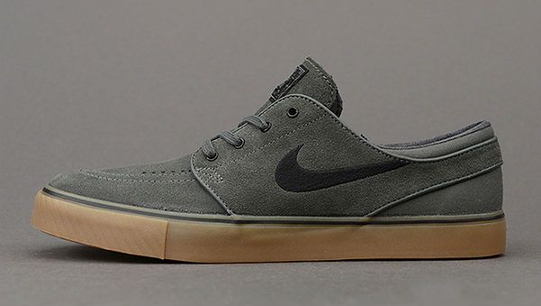 89596f1489bd Nike SB Stefan Janoski Dark Base Grey   Black-Gum