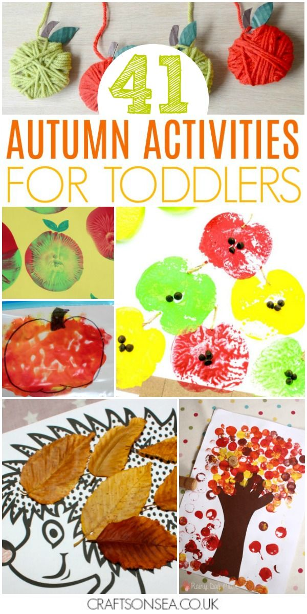 40 Easy And Fun Autumn Activities For Toddlers Crafts On Sea Blog