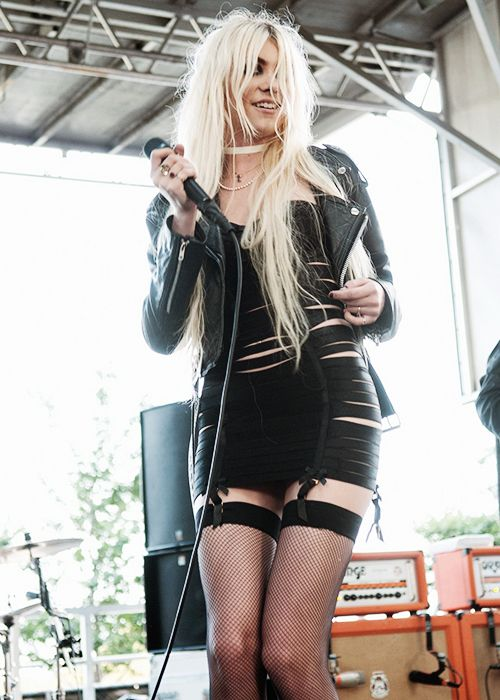 Taylor Momsen. I love this bandage dress
