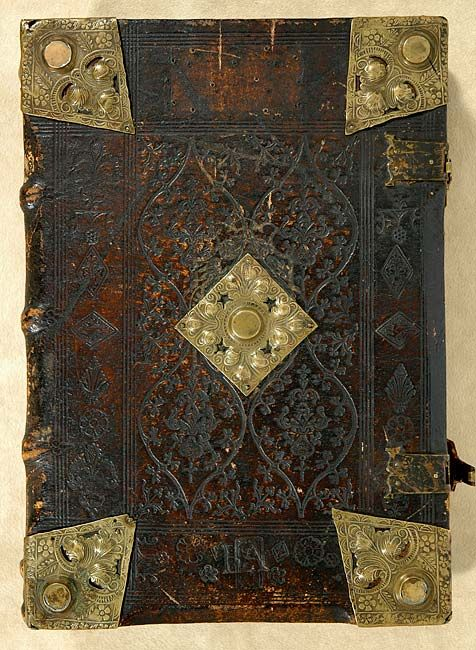 The Morgan Library & Museum - Incunable Bookbinding - PML 63245 - Front cover, outside