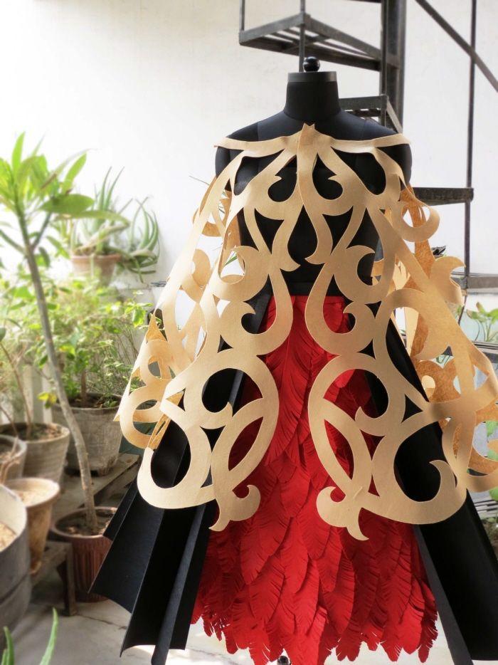 Ta Moko Weruweru - Finalist - World of Wearable art 2013, NZ by Deepti Jain at Coroflot.com