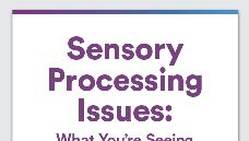 Graphic of Sensory processing issues: What you're seeing in your middle schooler
