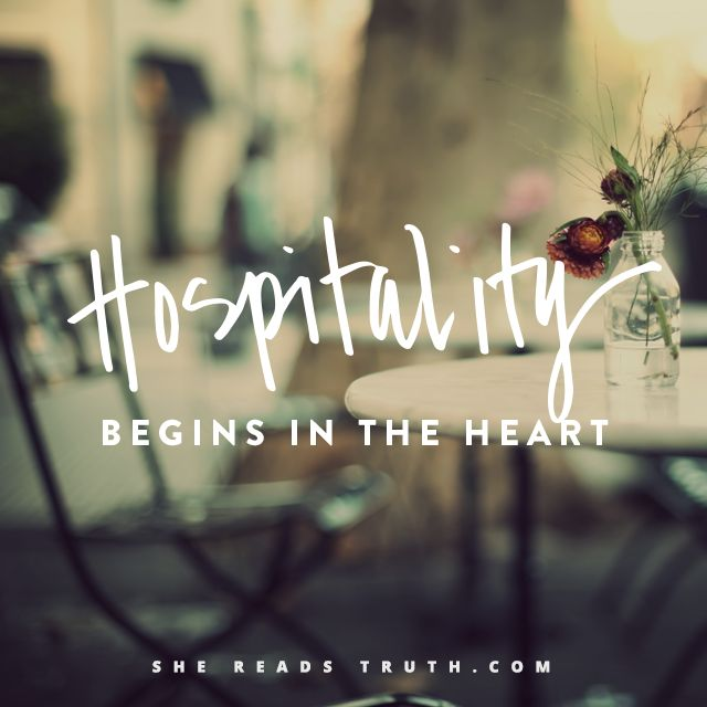What Is Hospitality, Really? - #SheReadsTruth | #SheReadsTruth