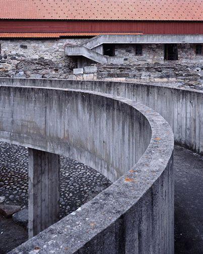 Hedmark Museum, Hamar, Norway, 1967 Sverre Fehn