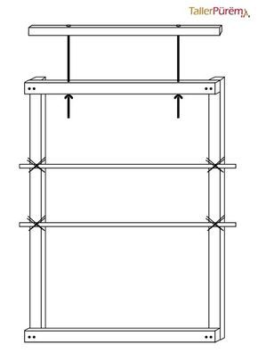 Construyan su Propio Telar | Taller Pürëm