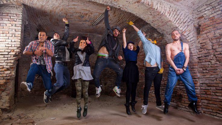 Behind the scene - Codrin Roibu and Demoga Music Producers