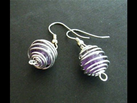 11 best Jewelry: Wire Beads images on Pinterest | Wire wrapping ...