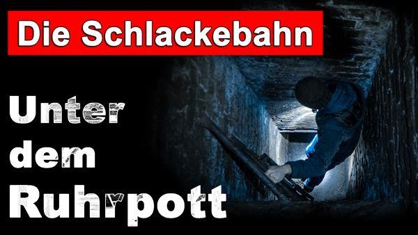 """Glasklar einer der spannendsten """"Lost Places"""" überhaupt!  Die unterirdische Schlackebahn unter Bochum im Ruhrgebiet: Ehemals wurde hier die glühende Schlacke des darüber liegenden Stahlwerks abtransportiert, heute schlummert sie seelenruhig unter der Stadt.  Neben den Tunneln der Bahn selbst, gibt es dort noch weitere unterirdische Werkstätten, Kanaltunnel und sogar Bunker aus dem zweiten Weltkrieg."""