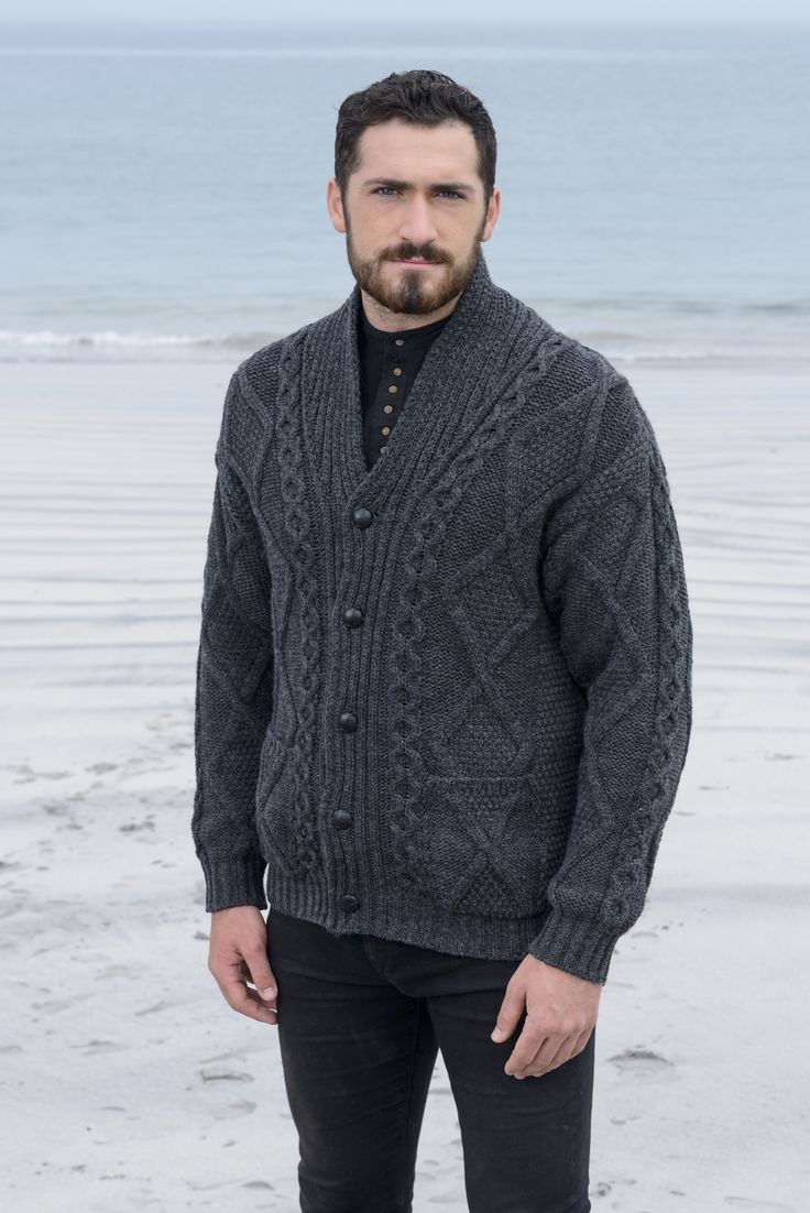 80 best Aran design for Men images on Pinterest   Knitting, Cable ...