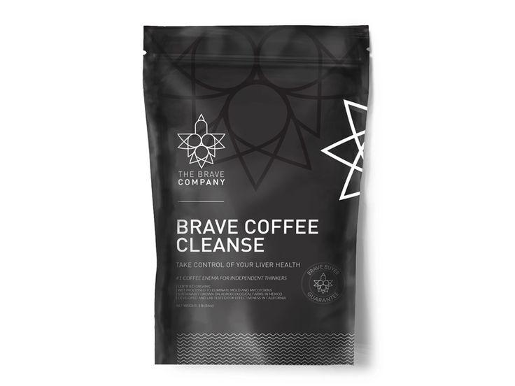 Coffee enema packaging