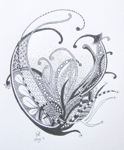 Zentangle. So beautiful..............