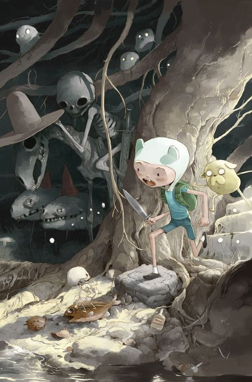 "comicsodissey: ""ADVENTURE TIME COMICS #4 """