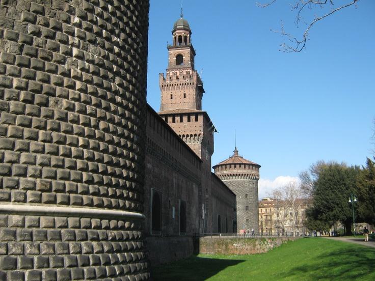 Castle / Castello Sforzesco. Milan.