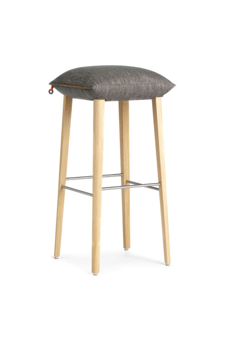 SODA H82 Design Counter Height Bar Stool By Mobitec. Very Comfortable With  Its Upholstered Seat
