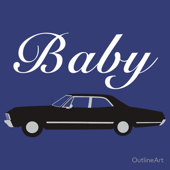 Supernatural Impala - Dean Winchester's Baby