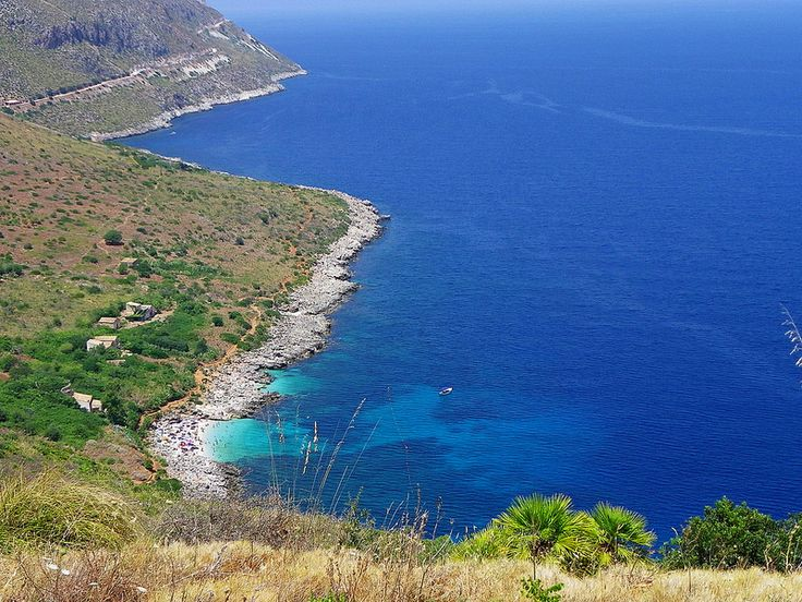 Zingaro Natural Reserve in Sicily, Italy