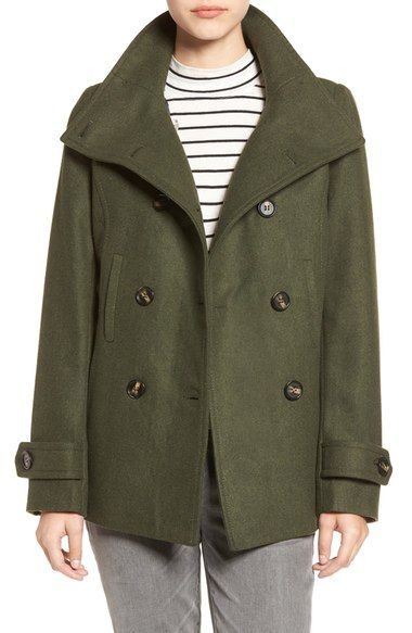 Thread & Supply Double Breasted Peacoat available at #Nordstrom