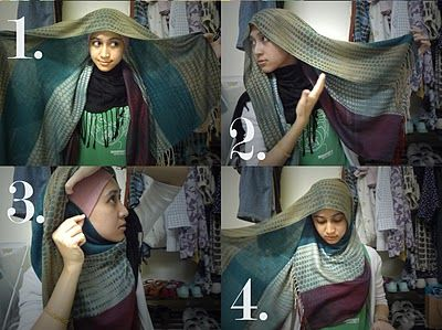 Maria elena's Hijab style