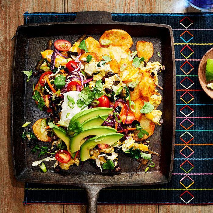 Healthy Breakfast Nachos - Shape.com