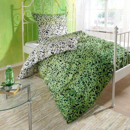 Eine Augenweide ist das Muster aus unzähligen Elementen. Eine hochwertige Verarbeitung in Kombination mit dem tollen Design zeichnen diese Bettwäsche aus. www.bettwaren-shop.de