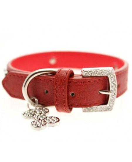 Collar Sintético Red Diamond