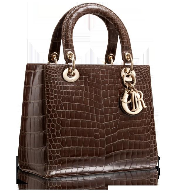 Brown Croc Lady DIOR bag ....  YUMMY !!!!!!!!!!!!