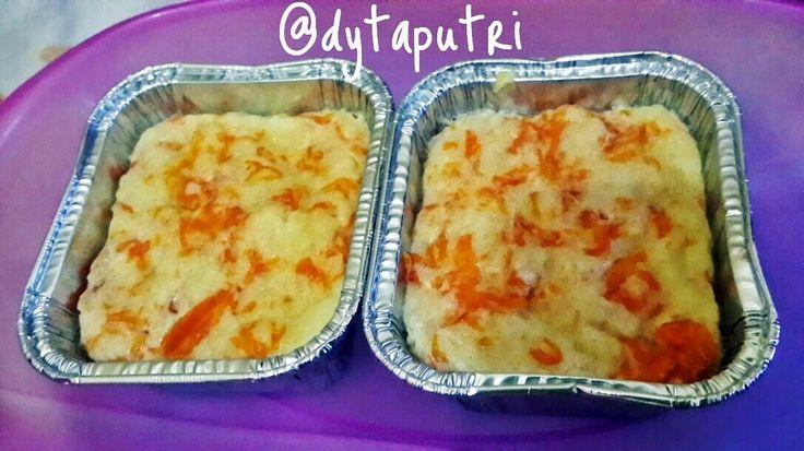 THE DYTAPUTRI: Resep MPASI : Puding Roti Labu Kuning (10m)