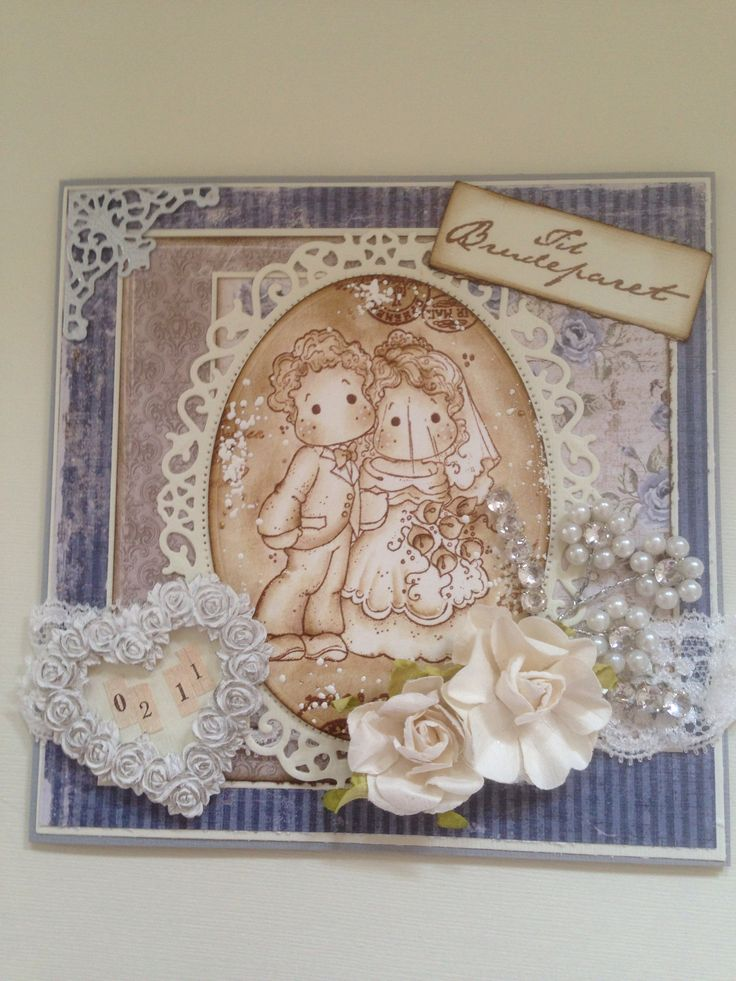 Wedding card Magnolia Maja Design