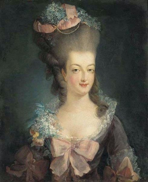 Marie Antoinette portrait 1775,  Was Guillotined at the behest of a citizen Government illegally set up in France. Her Son was imprisoned and none knows his fate.