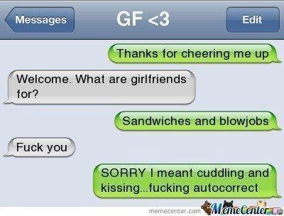 Damn autocorrect! Lol