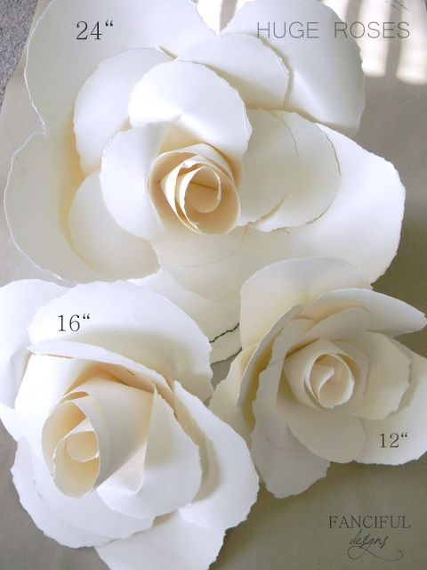 Huge Paper RosesPaper Roses, Beautiful Roses, Beautiful Paper, Paper Flowers, Martha Stewart, Huge Paper, Crafts Diy, Paper Crafts, Fancy Design