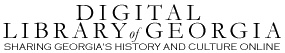 The Digital Library of Georgia contain digitized materials from a number of institutions across the state. Major collections in this online archive include Digital Georgia Newspapers and Vanishing Georgia.
