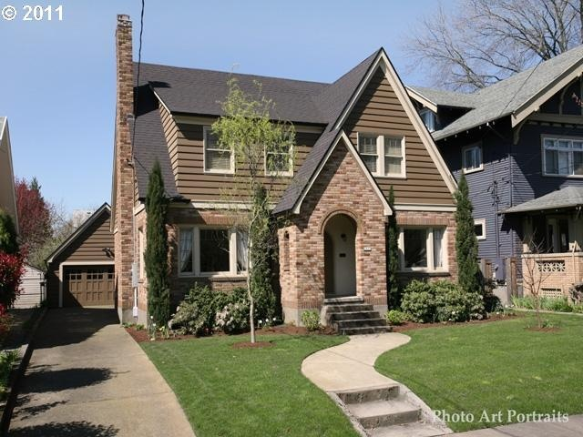 1930 English Tudor Portland Oregon