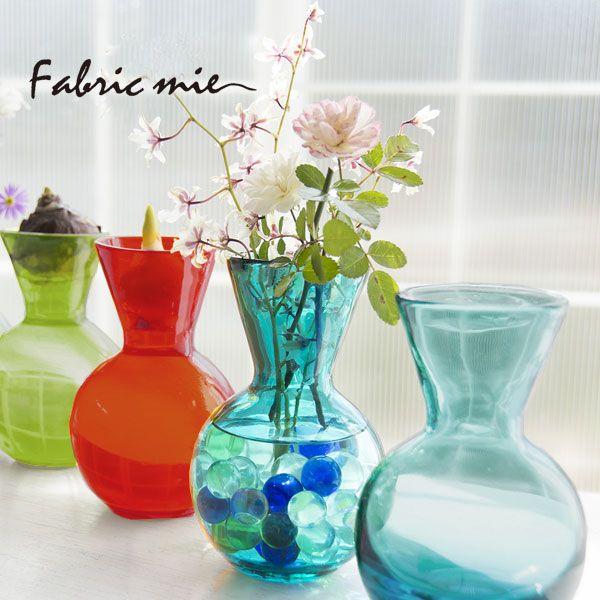 【楽天市場】Fabric mie(ファブリックミー)HANDBLOWN ART GLASS PLANTER(花瓶/フラワーベース/手吹きガラス/フラワーポット/球根/水栽培/ヒヤシンス)【05P04Jul15】:シゼム楽天市場支店
