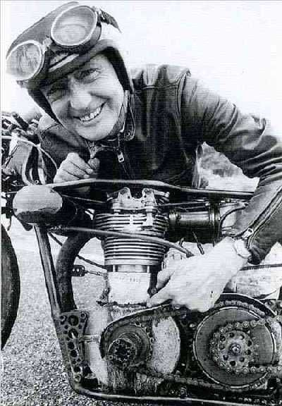 In 1962, Burt set a world land speed record at the Bonneville Salt Flats by getting his Indian motorcycle up to 178.97 miles per hour. At that point, the engine was bored out to 850 cc.