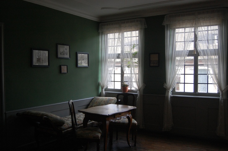 Goethe 's House interior / Museum now in Frankfurt