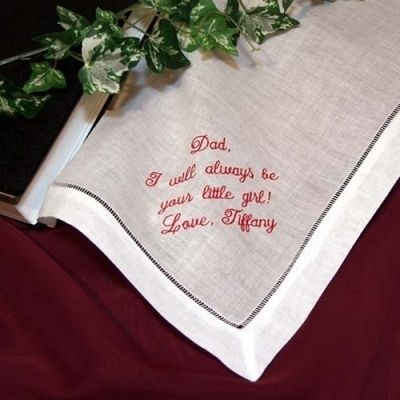 Cotton handkerchiefs for men. Hankie for suit jacket makes is perfect for Father of the Bride gifts. Created by Li'l Inspirations. Come visit my on-line boutique. Click here.