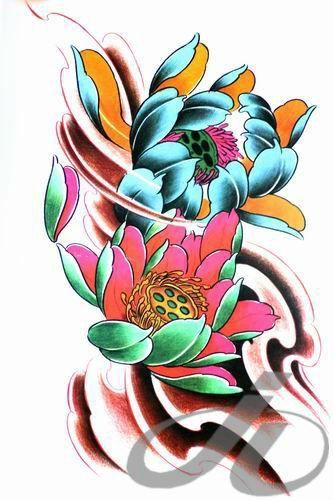 floral oriental tattoo - Pesquisa Google