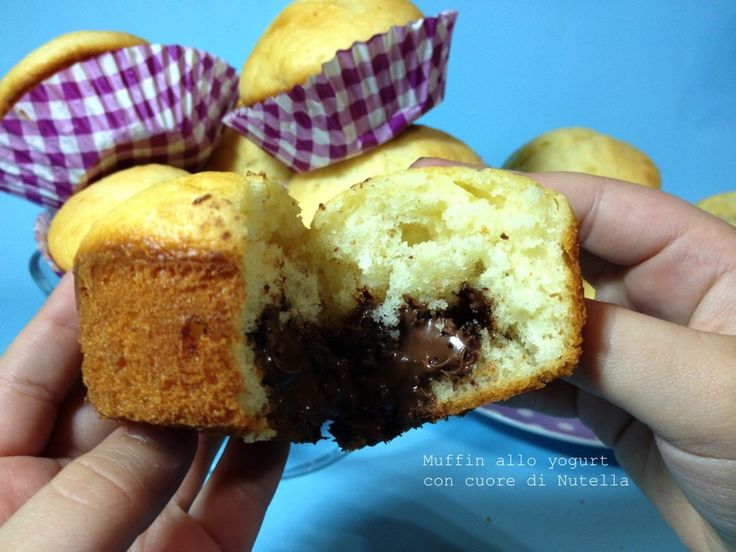 Muffin yogurt e Nutella