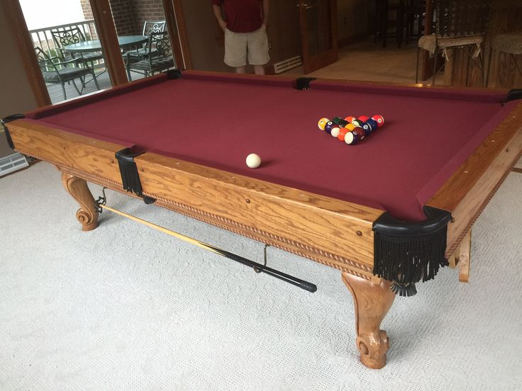 Used Pool Tables in great condition, all include new cloth any color and delivery. Ready for play!