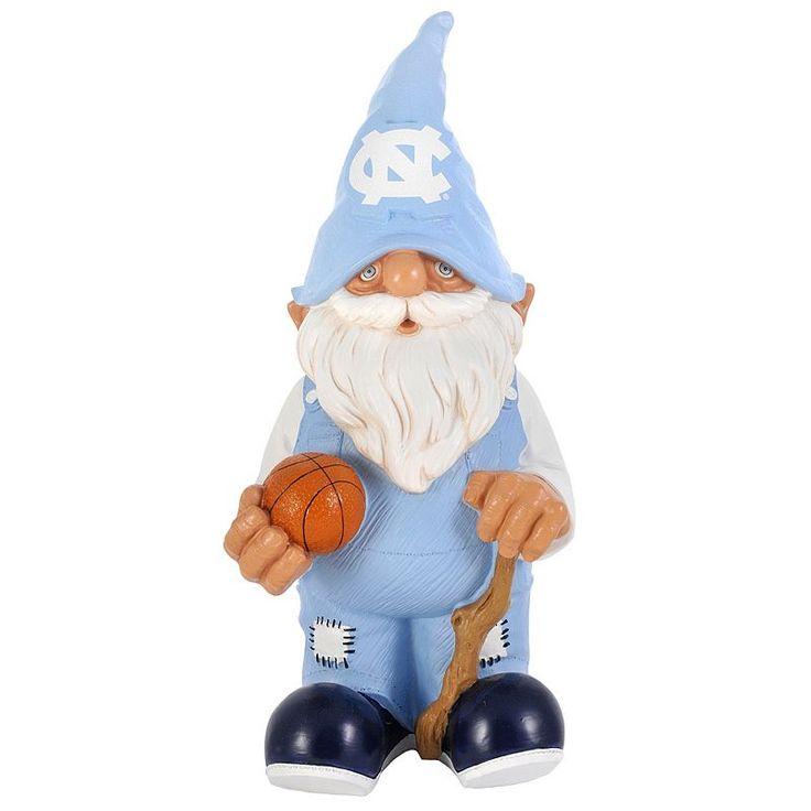 Forever Collectibles North Carolina Tar Heels Garden Gnome, Blue
