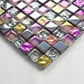 Iridescent seven color symphony crystal glass mixed stainless steel mosaic tiles for kitchen backsplash decoration HMGM1036 on Aliexpress.com | Alibaba Group